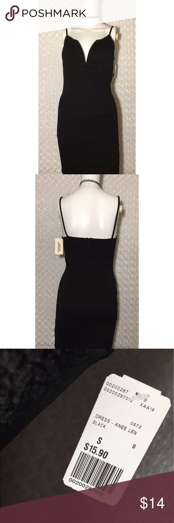 NWT FOREVER21 Sexy Little Black Dress NWT black dress with a sexy little peek a boo for your girls! Forever 21 Dresses Mini