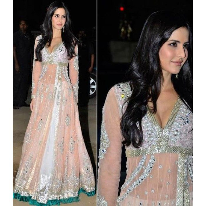 Stunning Katrina Kaif Lehenga (Free Stitching)