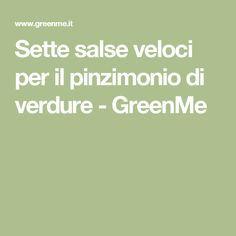 Sette salse veloci per il pinzimonio di verdure - GreenMe