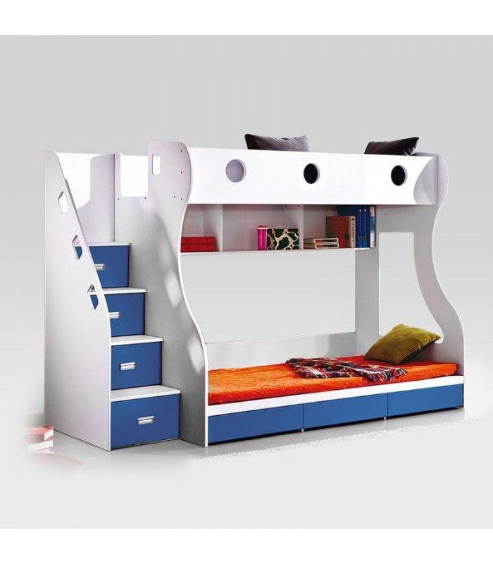Storage Bunk Bed Blue Kids Bunk Beds For Sale Kids Bunk Beds Bunk Beds For Sale Bedroom Furniture Beds