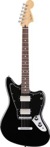 Fender Blacktop(TM) Jaguar® HH Electric Guitar, Black, Rosewood Fretboard by Fender. $499.99