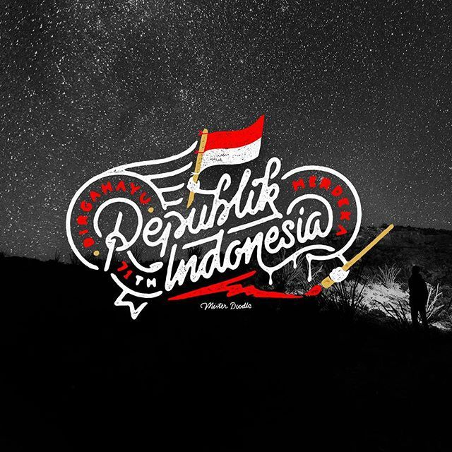Happy Independence Day Indonesia . Dirgahayu Republik Indonesia yang ke-71…
