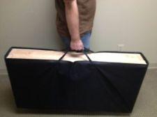 NEW! Canvas CORNHOLE Baggo Bean Bag Board CARRYING CASE - HOLDS 2 BOARDS