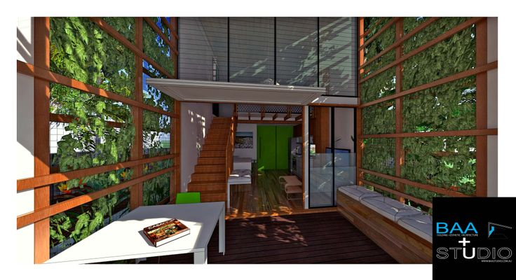Marco polo granny flat deck view