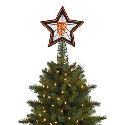 San Francisco Giants Tree Topper