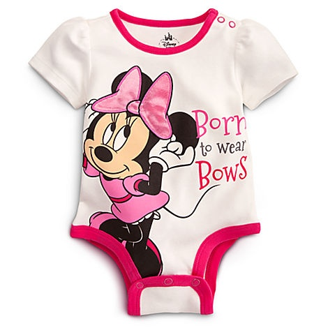 Minnie Mouse Disney Cuddly Bodysuit for Baby | Bodysuits | Disney Store