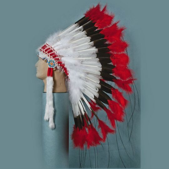 Hand Painted Imitation Eagle Feathers