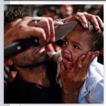 CRIME - SWEDEN: OCH EN DAGENS BILD TILL: En glad muslimsk familjef...