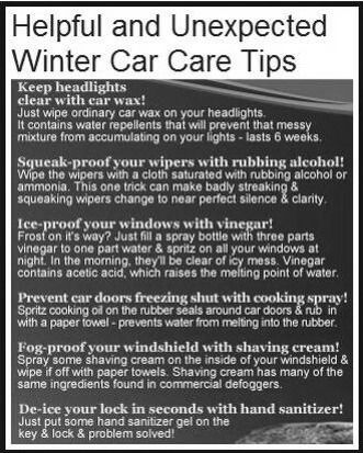 17 Best Images About Winter Car Care On Pinterest Winter