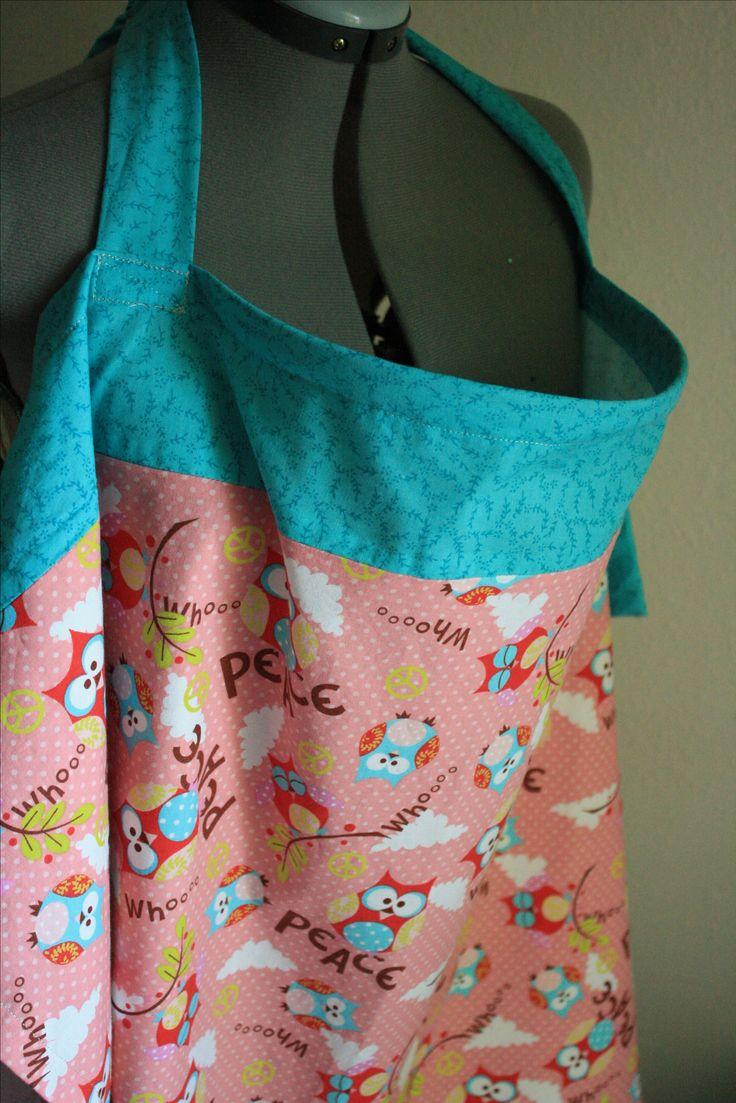 DIY nursing cover, baby shower, crafts