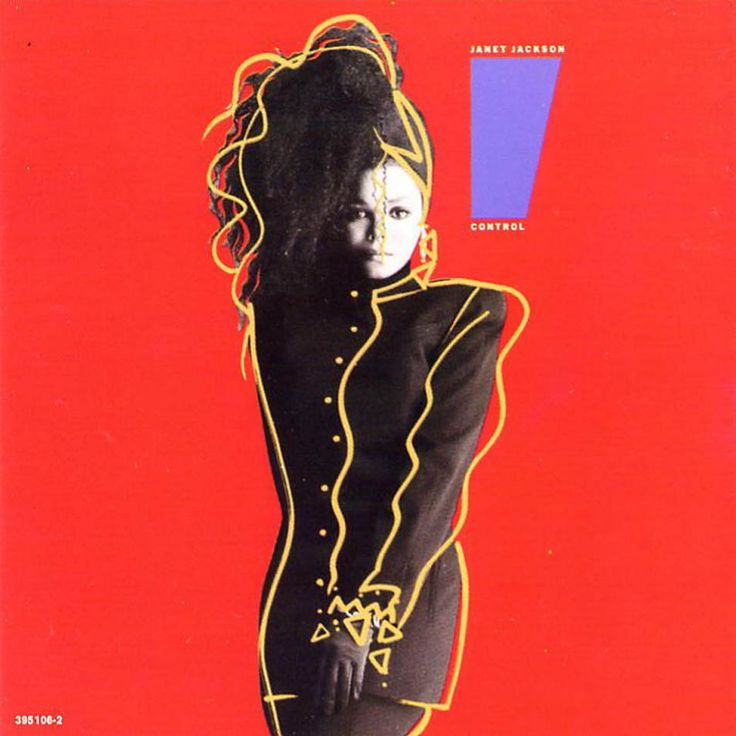 "Janet Jackson / Control • 1986 -- Check out the ""I ♥♥♥ the ..."