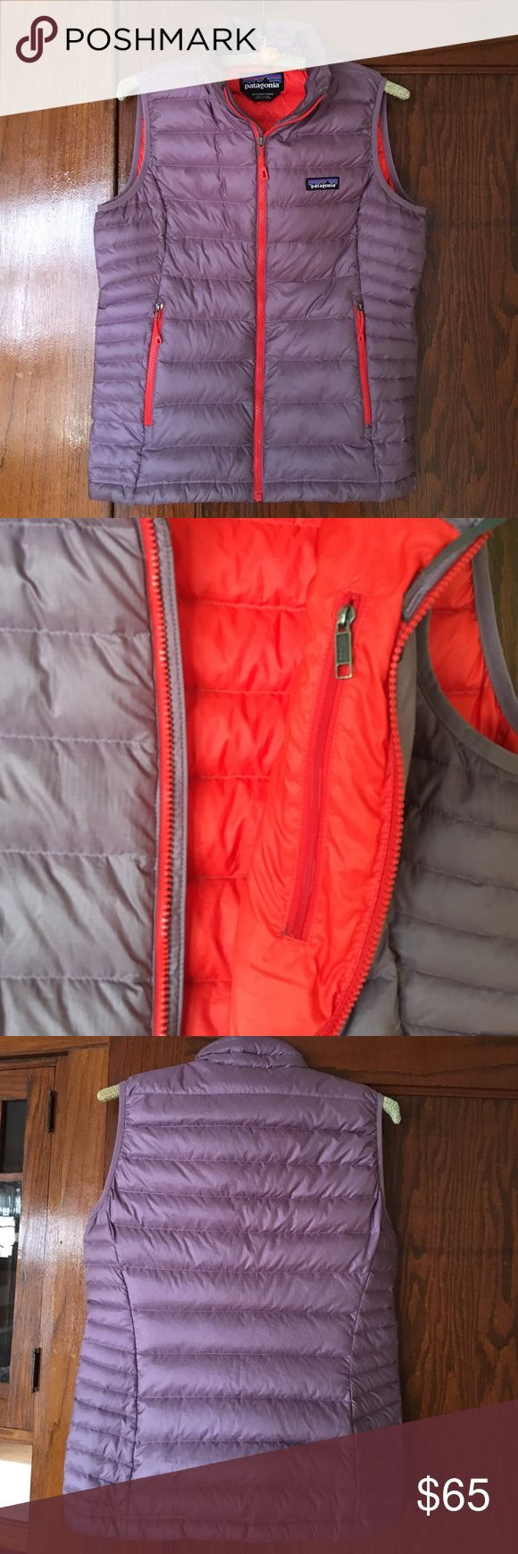 Patagonia Down Sweater Vest Discontinued color combination- warm and cute! Patagonia Jackets & Coats Vests