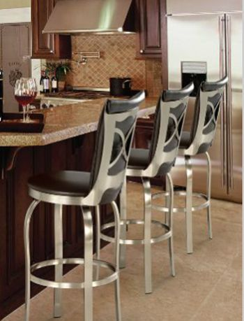 Trica Barstools - Custom Bar u0026 Counter Stools - A Division of Discount Leather Chairs Inc. & 24 best Barstools images on Pinterest | Chairs Blue and Colors islam-shia.org