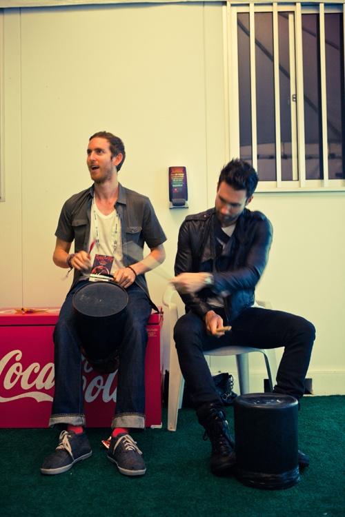Jesse Carmichael and Adam Levine