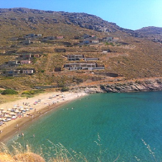 #Xyla beach #Tzia close to Athens, you will either love it or hate it! Rumors say it is expensive..