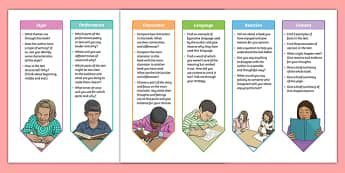 Year 5 and 6 Guided Reading Bookmark