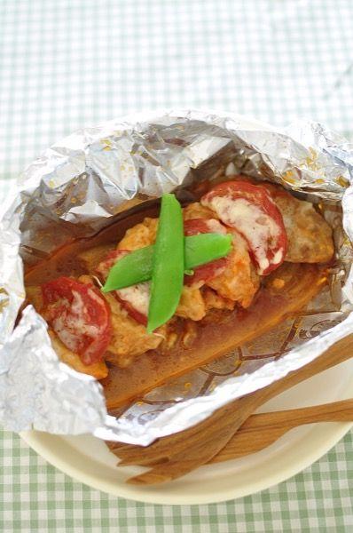 味噌漬け鶏と野菜のホイル焼き by NEWクレラップ&キチントさん ...