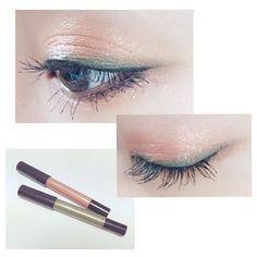 ヴィセのクレヨンアイカラーが本日発売♡ 今いちばん好きな組み合わせがオレンジ×カーキ オレンジをまぶた中央に数回描いて指でアイホール全体にぼかしたあと、カーキをアイラインのように入れて目尻までのばします #OR3 #GR6 #CrayonEyecolor #crayon #eyecolor #visee #cosme #cosmetics #make #makeup #eyemake #ヴィセ #クレヨンアイカラー #コスメ #メイク #美容 #アイメイク #アイカラー #アイシャドウ