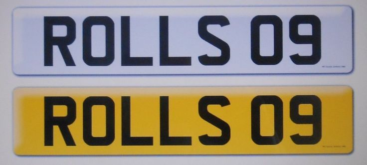 eBay: 'ROLLS' .................... vehicle registration number investment px swap swop #classiccars #cars
