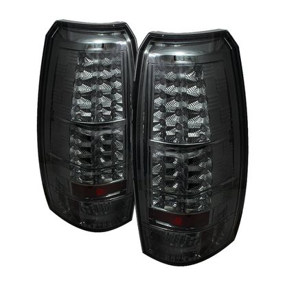 2007-2013 Chevy Avalanche LED Tail Lights - Smoke