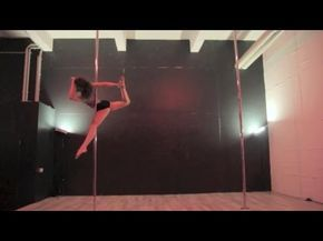 Spinning Pole Dance Combo / Forward Attitude Spin (15 Spins Into Climbing) - YouTube