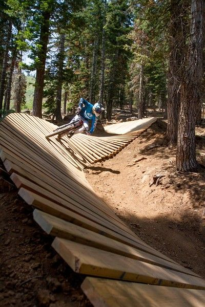Four ways to play at Tahoe this summer - The Mercury News || Northstar's downhill mountain biking course is the most extensive in Northern California || Northstar California Resort
