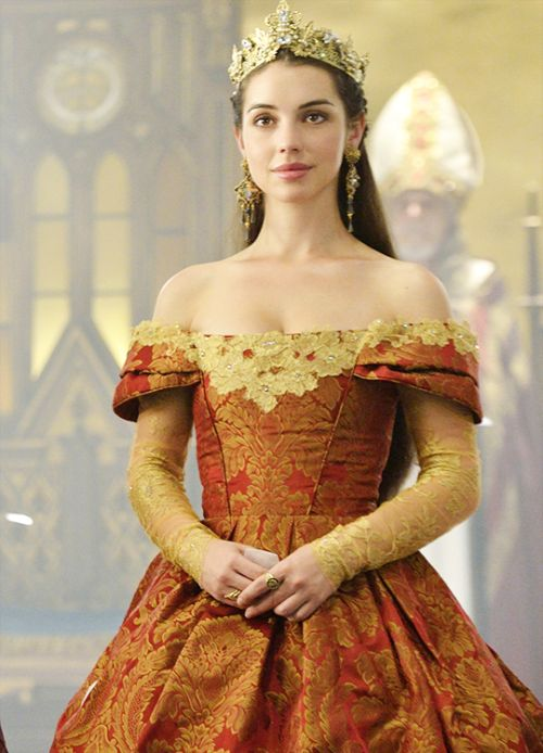 Adelaide Kane #Queen mary-'Reign' (2014). x