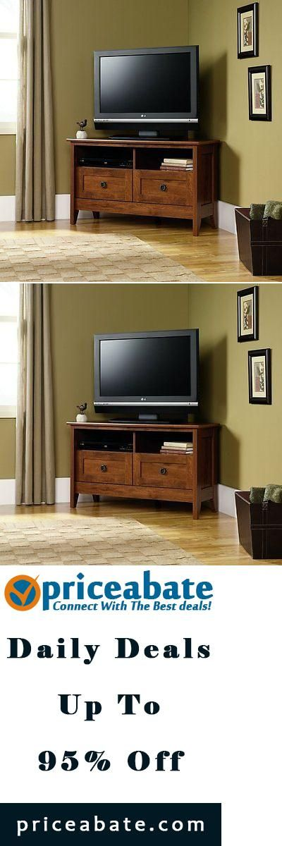 Amazing #Priceabate Corner Entertainment Stand TV Flat Screen Media Center Console  Furniture Wooden   Buy This