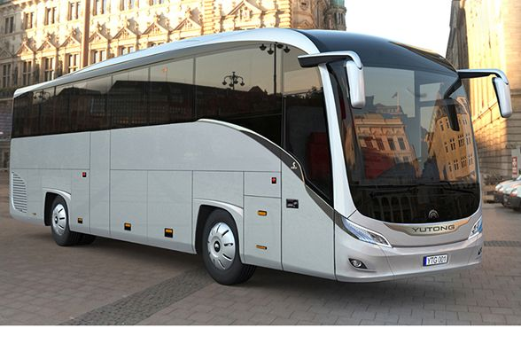 Yutong, the largest bus manufacturer in the world, launches its new Tourist Coach for Europe, designed by LKS DIARADESIGN > LKS > News