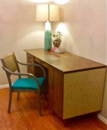 Danish Mid Century Modern Desk $200   Louisville Http://furnishly.com