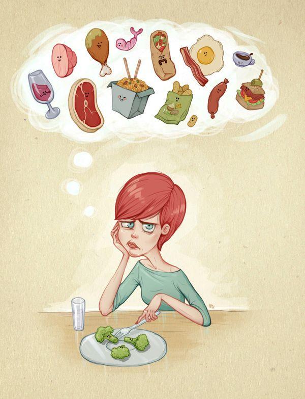 The Fun of being on a Diet. on Behance #diet #dieta