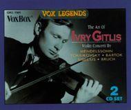 The Art of Ivry Gitlis [CD]