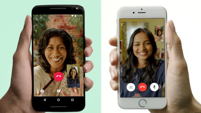 Sábes como se usa el nuevo servicio de videollamadas de #WhatsApp?