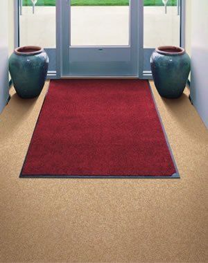 Carpet Mat Pro - Indoor Mat - Commercial Grade - 3' x 3' - Black by Doormats & More. $47.99. These commercial grade indoor / covered outdoor mats are both beautiful and durable. They are intended to compliment any business or home decor while taking a beating. Lush, solution dyed nylon carpet covers these sturdy dependable mats, trapping dust and moisture below the surface before it enters your place of business or residence. They are backed with 100% nitrile rubber ...
