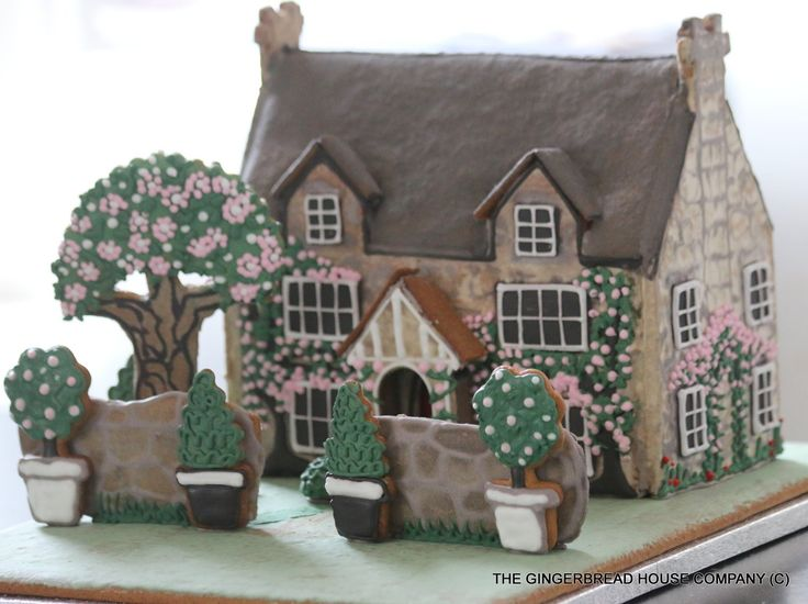 #Gingerbread English Cottage