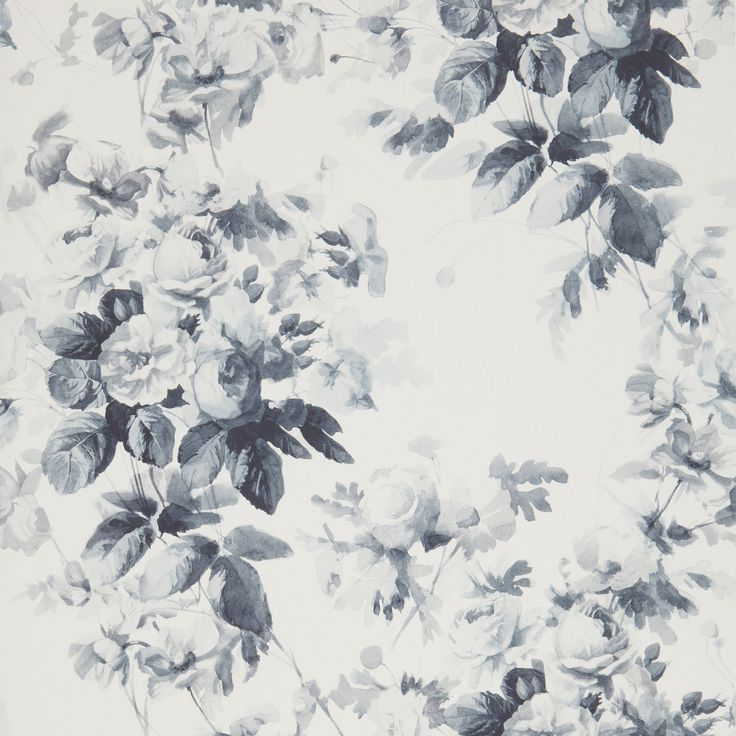 The amazing House of Hackney! LONDON ROSE Wallpaper China Blue