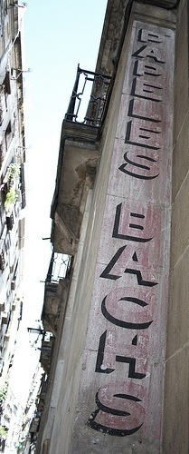 Hand Painted signage, Barcelona