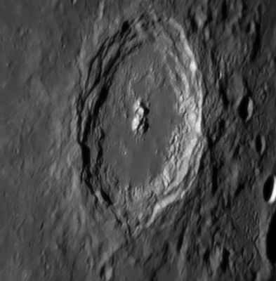 Langrenus crater