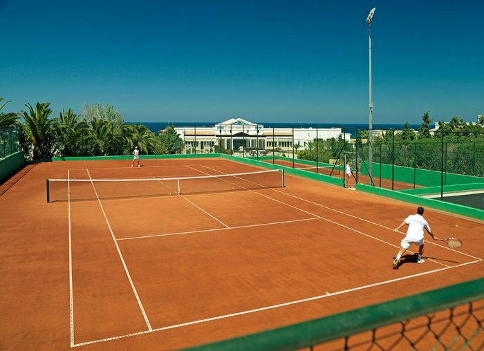 We can't guarantee to turn you into the next Roger Federer – although our facilities and coaching sessions can't help but improve your game..