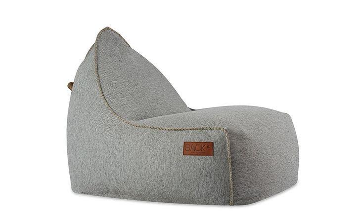 MONOQI | Outdoor-Sitzsack - Grau