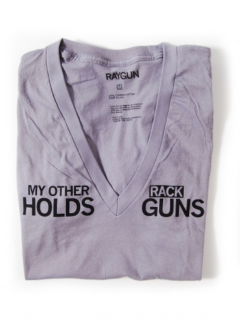 My other rack holds guns...