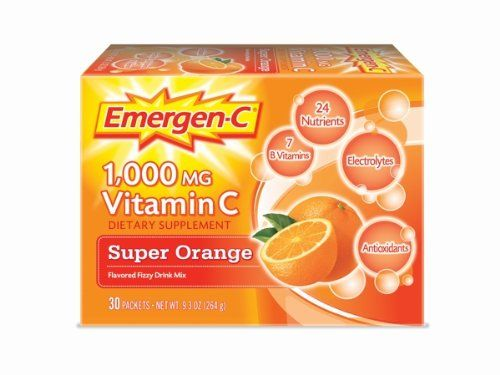 Alacer Super Orange Emergen-C (30 Päckchen)