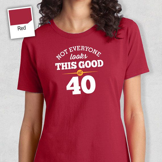 40th Birthday 40th Birthday Idea Great 40th by RareOccasions