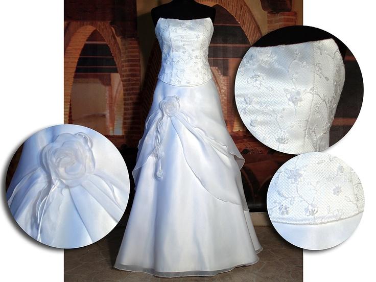 Levné svatební šaty - výprodej