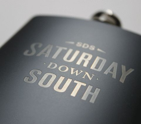 Saturday Down South Brushed Metal Flask – Saturday Down South Store