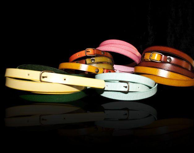 CINTURONES de IRUI. Dobles o sencillos, mono o multi-color, tu eliges!