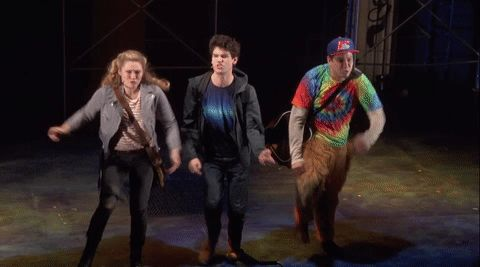 Percy Jackson: The Lightning Thief Musical. I need to see this more than anything in the entire world
