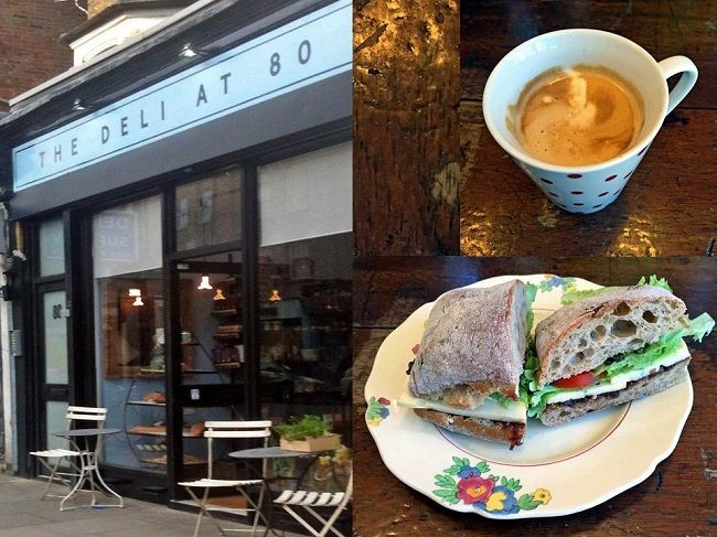 london coffee shops the deli at eighty finsbury park