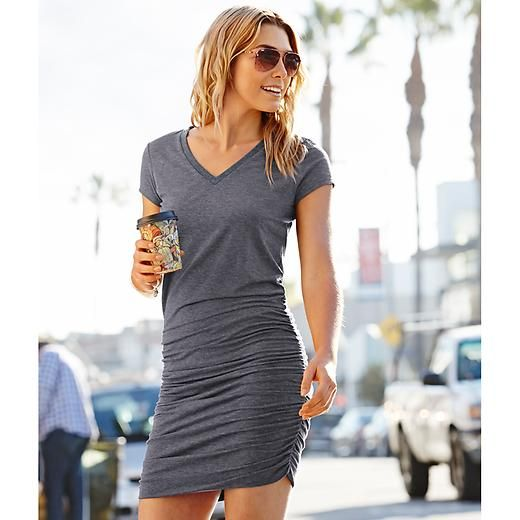 Love any and all dresses like this,that can be dressed up or down!