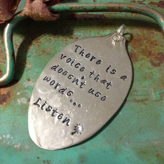 STaMPeD ViNTaGe uPCyCLeD SPooN JeWeLRy by JuLieSJuNQueTiQue